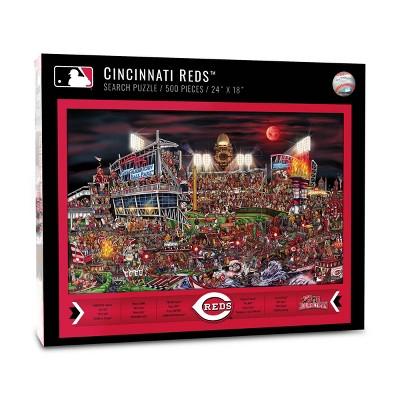 MLB Cincinnati Reds 500pc Find Joe Journeyman Puzzle