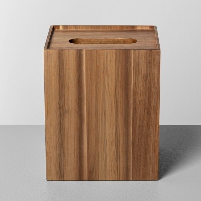 Wooden Tissue Box Holder - Hearth & Hand™ with Magnolia