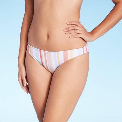 Juniors' Hipster Bikini Bottom - Xhilaration™ Multi Stripe