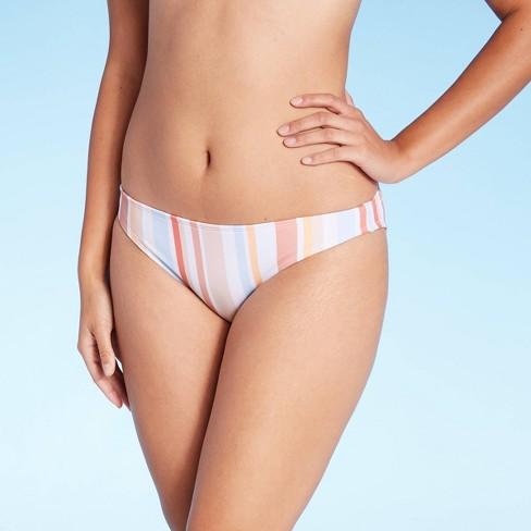 Juniors' Hipster Bikini Bottom - Xhilaration™ Multi Stripe - image 1 of 4