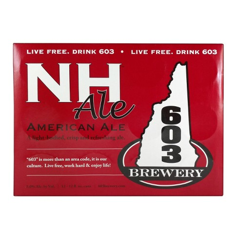 603 NH Ale Beer - 12pk/12 fl oz Cans - image 1 of 1