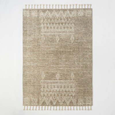 Westlake Placed Persian Style Rug Tan - Threshold™ designed with Studio McGee