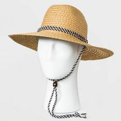 Men's Paper Straw Lifeguard Hat - Goodfellow & Co™ Brown