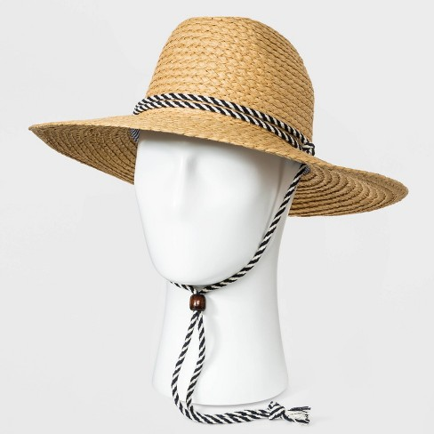 Men's Paper Straw Lifeguard Hat - Goodfellow & Co™ Brown - image 1 of 2