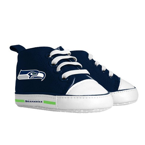NFL Seattle Seahawks Baby High Top Sneakers - 0-6M - image 1 of 1
