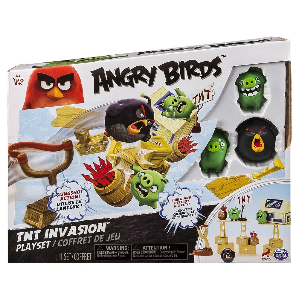 Angry Birds Tnt Invasion Blitz Playset