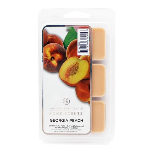 6pk Wax Melts Georgia Peach - Home Scents by Chesapeake Bay Candle - image 1 of 1