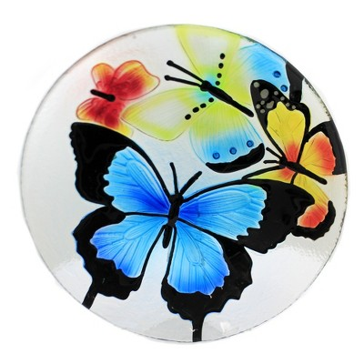 "Tabletop 13.75"" Butterfly Round Platter Spring Summer Ganz  -  Serving Platters"