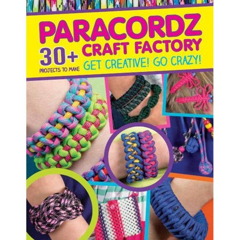 Paracordz Craft Factory - (Paperback) - image 1 of 1