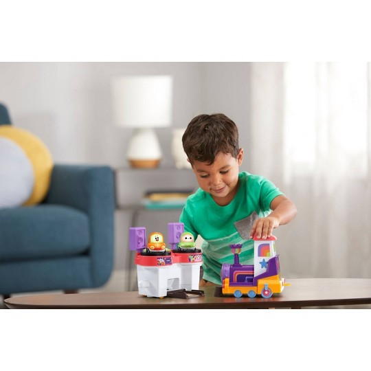 VTech Go! Go! Cory Carson DJ Train Trax & the Roll Train image number null