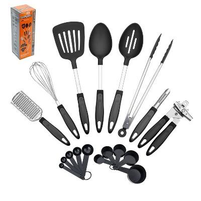 Proctor Silex 18pc Kitchen Tool Set - Gray/Black