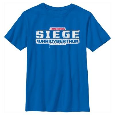 Boy's Transformers Siege Logo T-Shirt