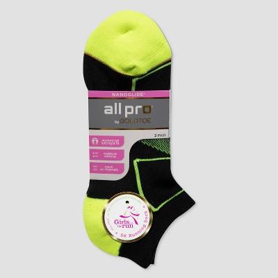All Pro By Gold Toe Women S Cushion Heel Toe No Show Athletic Socks