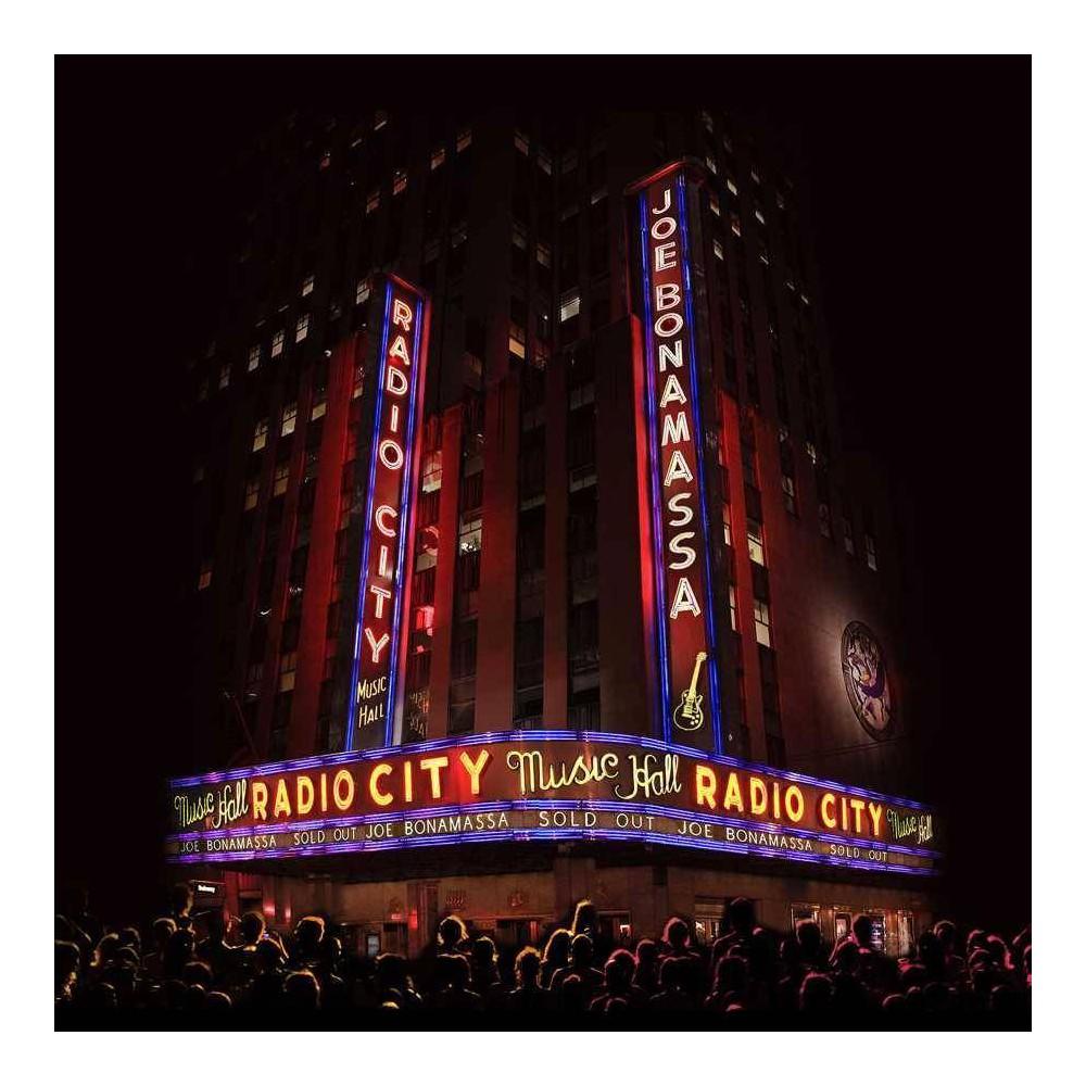 Joe Bonamassa Live At Radio City Music Hall Cd Blu Ray Combo