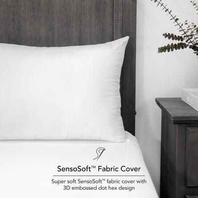 SensorPEDIC Embossed SensoSoft Jumbo Fiber Filled Bed Pillow