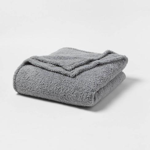 Sherpa Bed Blanket - Room Essentials™ - image 1 of 3