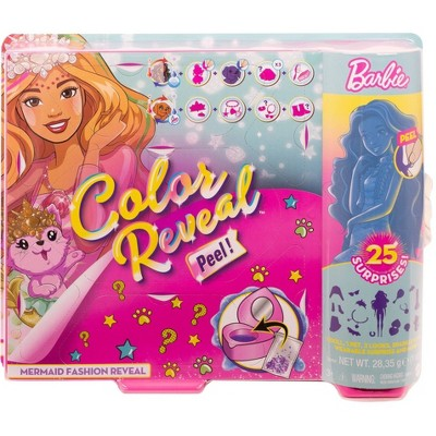 Barbie Color Reveal Peel Mermaid Fashion Reveal Doll