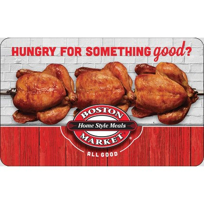 Boston Market $25 (Email Delivery)