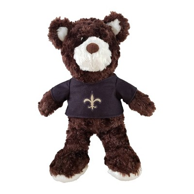 """NFL New Orleans Saints 12"""" Teddy Bear with Jersey"""