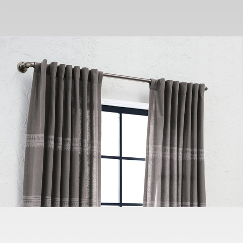 French Pipe Curtain Rod Threshold Target
