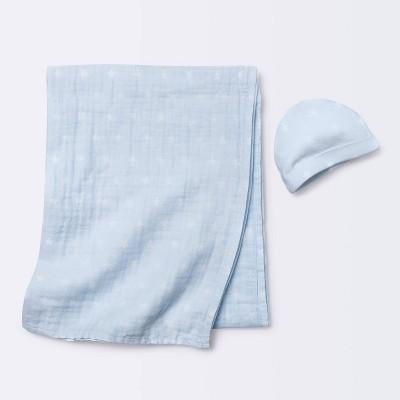 Hospital Gift Set with Hat Stars - Cloud Island™ Blue