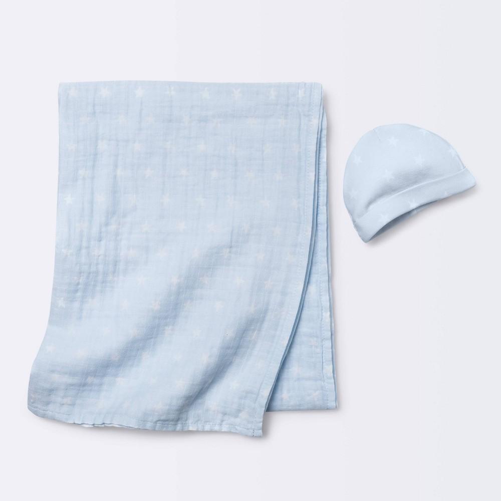 Hospital Gift Set With Hat Stars Cloud Island 8482 Blue