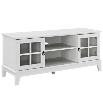 """Isle TV Stand for TVs up to 47"""" White - Modway"""