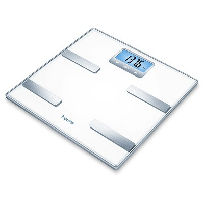 Glass Body Analysis Scale White - Beurer
