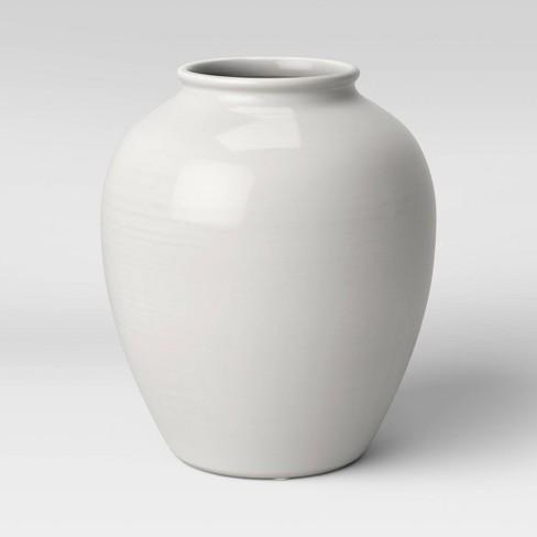 Ceramic Vase Ivory - Threshold™ - image 1 of 3