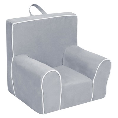 Ch&ion Grab-N-Go Kidsu0027 Foam Chair With Handle - Pebbles with White Welt - Kangaroo Trading Co.  sc 1 st  Target & Champion Grab-N-Go Kidsu0027 Foam Chair With Handle - Pebbles With White ...