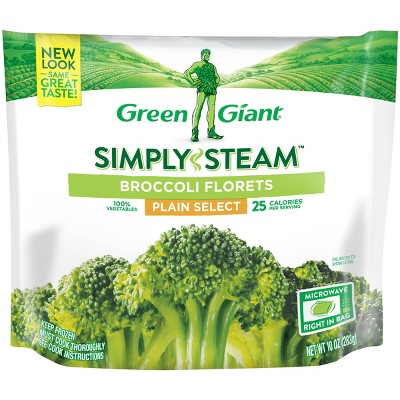 Green Giant Simply Steam Frozen Broccoli Florets - 10oz