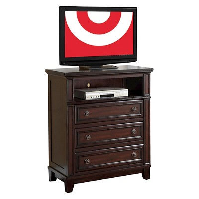 Harper 3-Drawer Media Chest Rich Expresso - Picket House Furnishings®