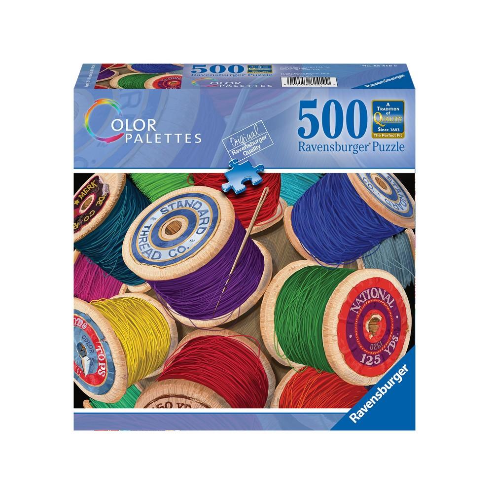 Ravensburger Pool of Spools 500pc Puzzle