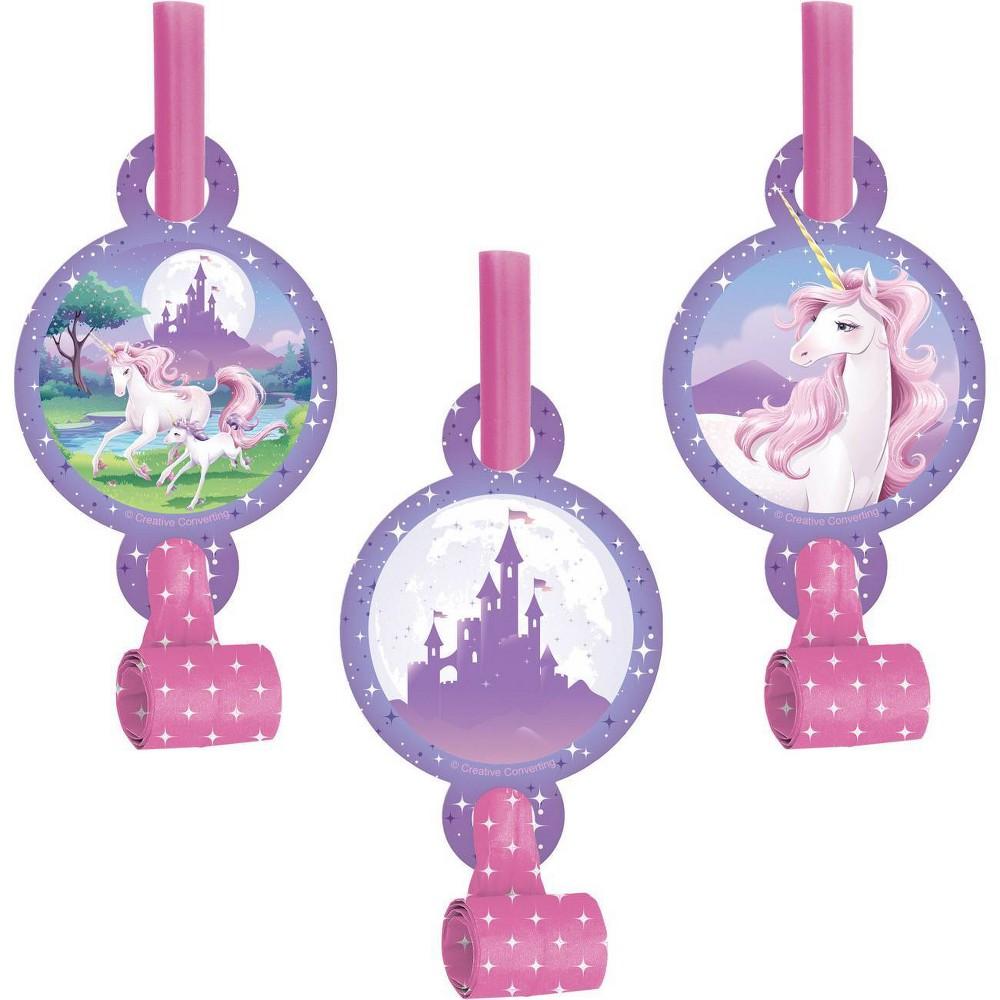 24ct Unicorn Fantasy Party Blowers