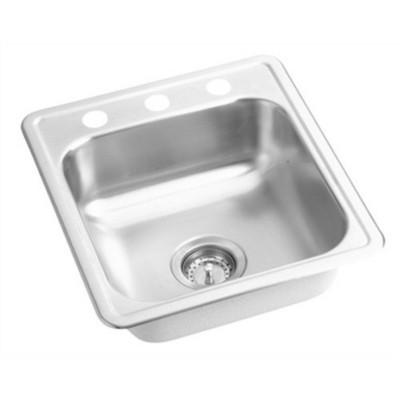 proflo pfsr171963 17 single bowl stainless steel kitchen sink target rh target com