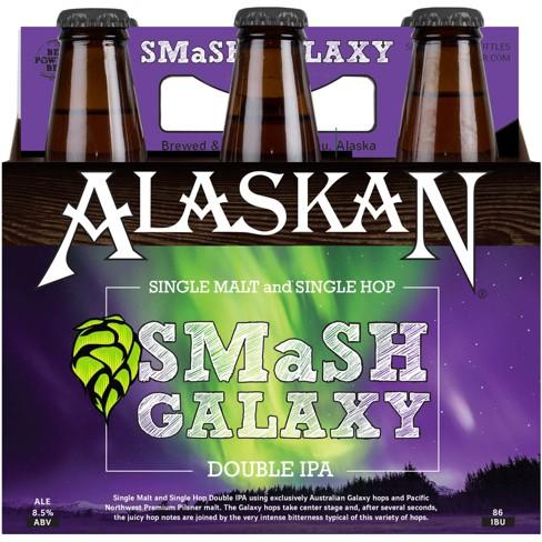 Alaskan Smash Galaxy Double Ipa 6pk 12 Fl Oz Bottles