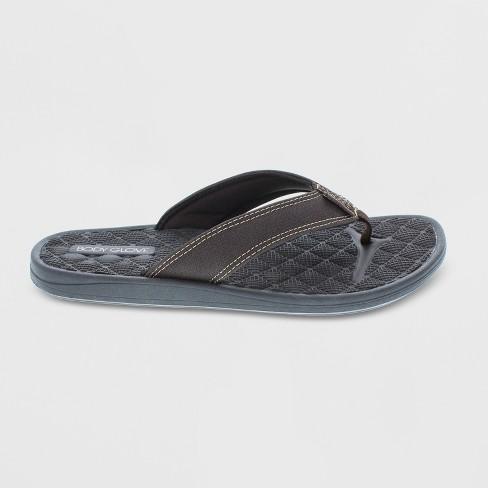 7431210d7096 Men s Body Glove Montego Flip Flop Sandals - Brown 10   Target