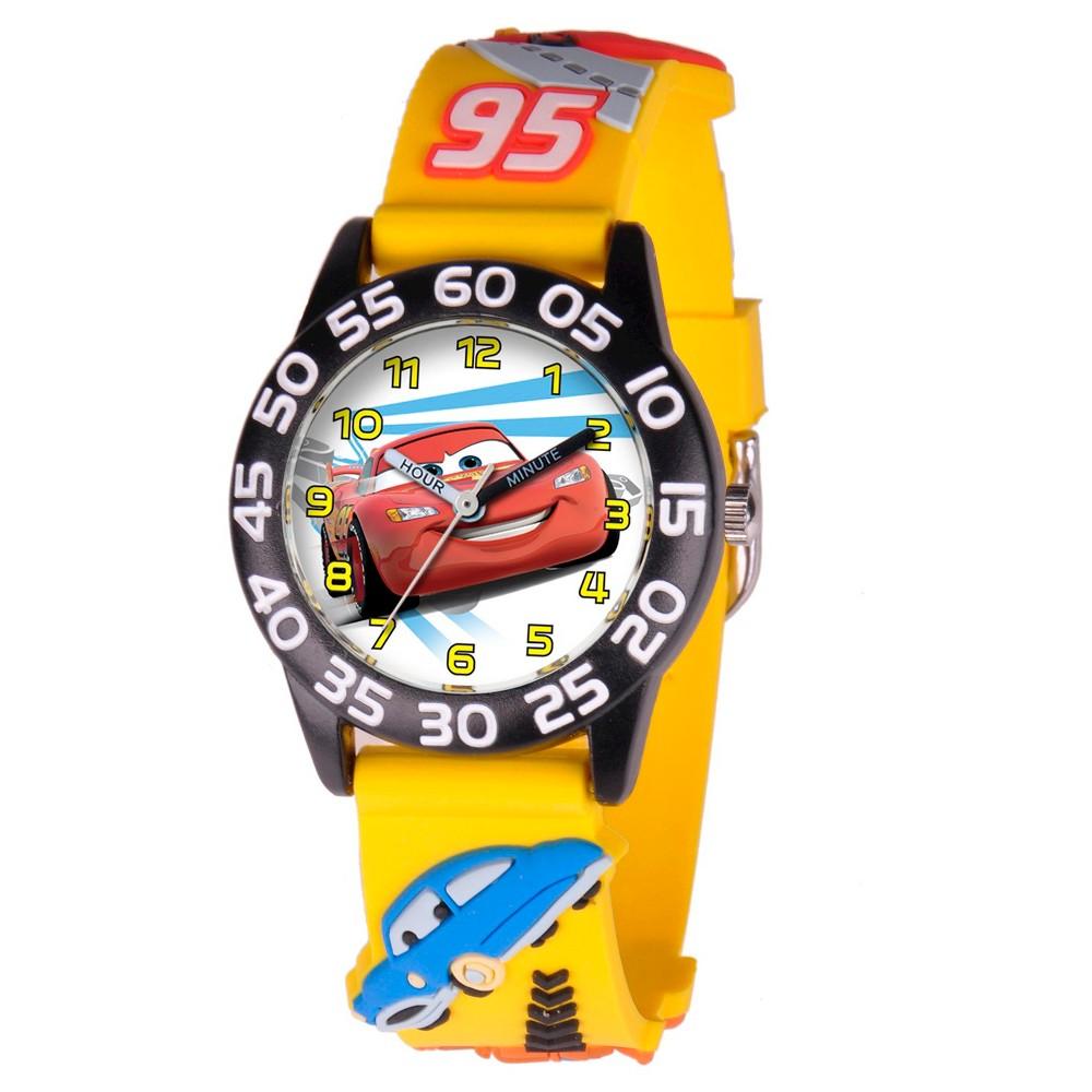Image of Boys' Disney Cars 3D Watch - Yellow, Men's