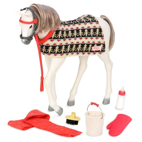 """Our Generation Fjord Norwegian Horse Foal Accessory Set for 18"""" Dolls - image 1 of 4"""