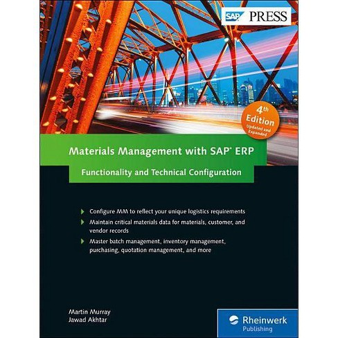 Materials Management with SAP Erp: Functionality and Technical Configuration - 4 Edition (Hardcover) - image 1 of 1