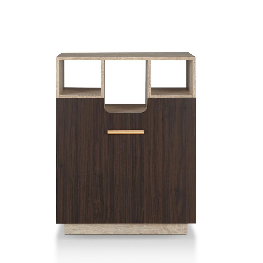 Alcaraz Decorative Storage Cabinet Natural Oak miBasics