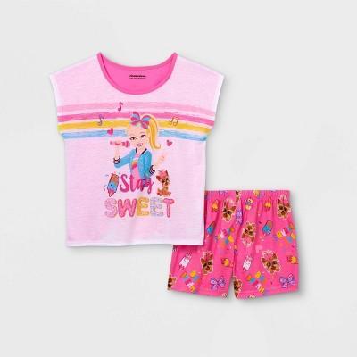 Girls' JoJo Siwa Stay Sweet 2pc Pajama Set - Pink