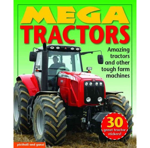 Mega Tractors : Amazing Tractors and Other Tough Farm Machines (Paperback) (Louise Pritchard & - image 1 of 1