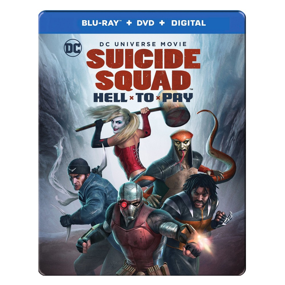 Dcu: Suicide Squad: Hell To Pay Target Exclusive Steelbook (Blu-ray + Dvd + Digital)