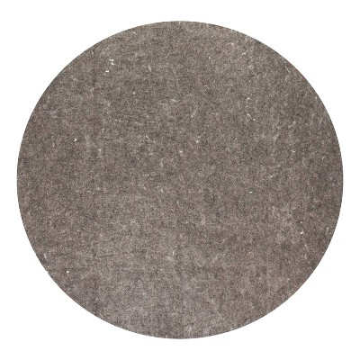 6' Round Premium Surface Rug Pad Gray - Anji Mountain