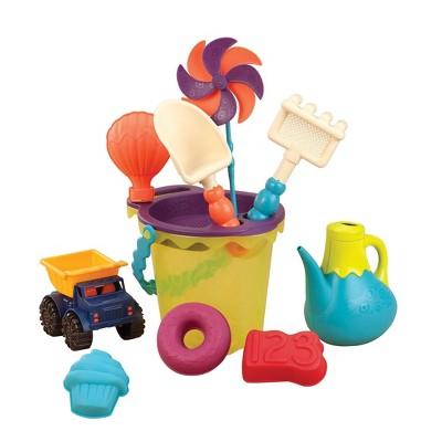 B. toys Beach Playset - B. Ready Beach Bag Lime