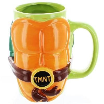 Just Funky Teenage Mutant Ninja Turtles Shell 32oz Ceramic Mug