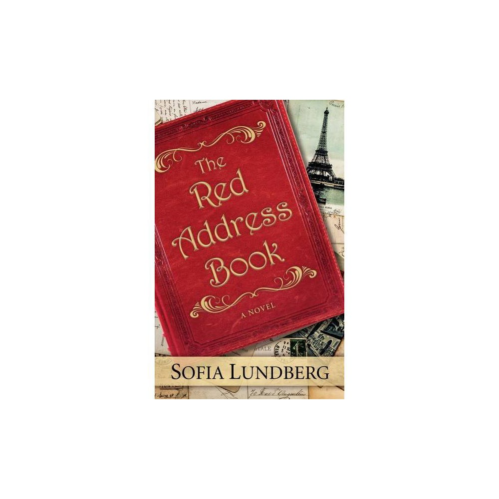 Red Address Book - Lrg (Thorndike Press Large Print Basic Series) by Sofia Lundberg (Hardcover)