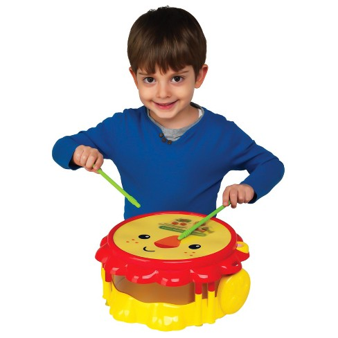 Fisher Price Lion Musical Band Drumset Target