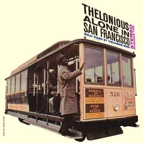 Thelonious Monk - Thelonious Alone In San Francisco (Vinyl) - image 1 of 1